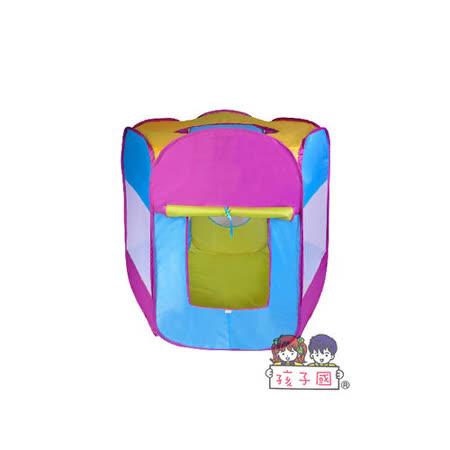 【孩子國】六角帳蓬摺疊球屋+100球(紫)