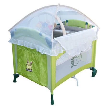 【Babybabe】拱型遊戲床(全配款)~綠色