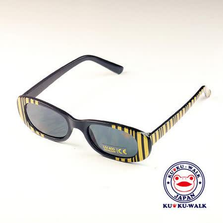 日本Ku Ku Walk兒童太陽眼鏡-豹紋款(金色/銀色)