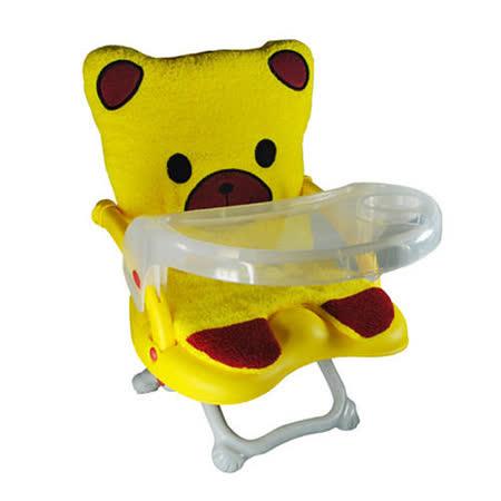 Arico -Q CHAIR多功能兒童餐椅/黃色小熊