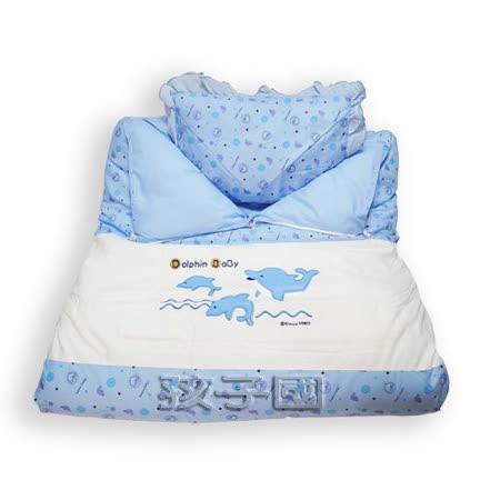 【孩子國】小海豚嬰兒睡袋.*台灣製造*