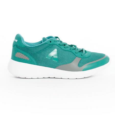AIRWALK(女) - 運動風潮透氣輕盈休閒慢跑鞋 -湖水綠