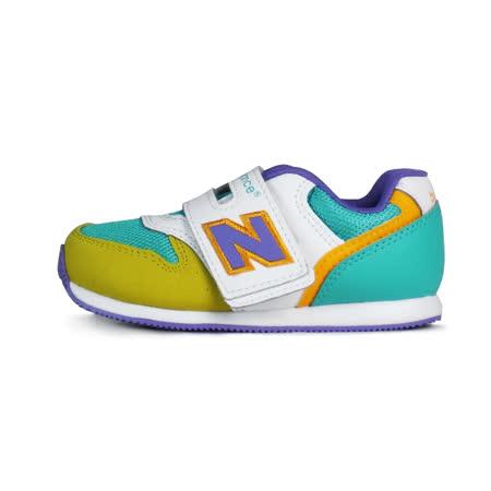 NEW BALANCE 996 TIER 3童 紐巴倫 復古鞋 綠/紫/黃-FS996YRI