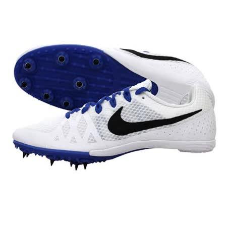 (男女) NIKE ZOOM RIVAL M 8 -田徑釘鞋- 中距離 白藍黑