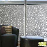 窩自在 居家無膠靜電玻璃貼膜 防曬貼紙-瓷磚 45x200cm