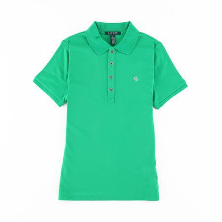 【好物分享】gohappy線上購物Ralph Lauren RL疊字logo素色女POLO衫(綠)價格三越 百貨