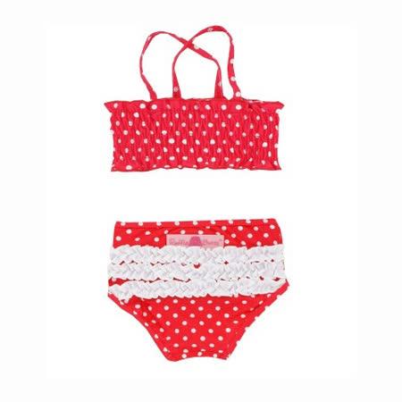 美國 RuffleButts 小女童兩截式泳裝_(RBSW08-04)