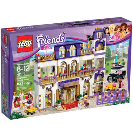 LEGO《 LT41101 》 Friends 姊妹淘系列 - 心湖城大飯店