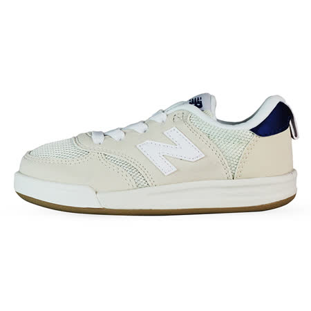 New Balance 童 KT300 TIER 3 紐巴倫 復古鞋 白/藍 - KT300WHI