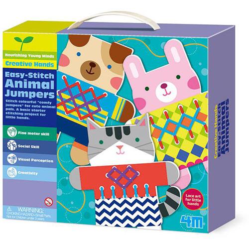 ~4M美勞創作~編織小動物毛衣 Easy~Stitch Animal Jumpers
