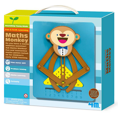 ~4M美勞創作~猴子數學小老師 Math Monkey