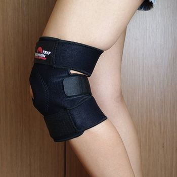 Mountain Trip普通3+1款魔鬼粘式護膝(彈性透氣)保護膝蓋護具減少運動傷害適單車腳踏車自行車打球藍球健行爬山登山露營羽球