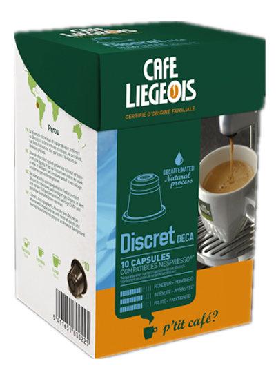 Liegeois 比利時 烈日咖啡膠囊~~ 堤絲葵咖啡 Discret ^(低咖啡因^)