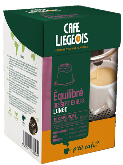 Liegeois 比利時 烈日咖啡膠囊~ 艾奇力柏 Équilibré Nespresso