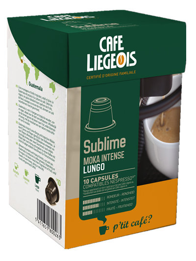 Liegeois 比利時 烈日咖啡膠囊~ 蘇霖 Sublime Nespresso