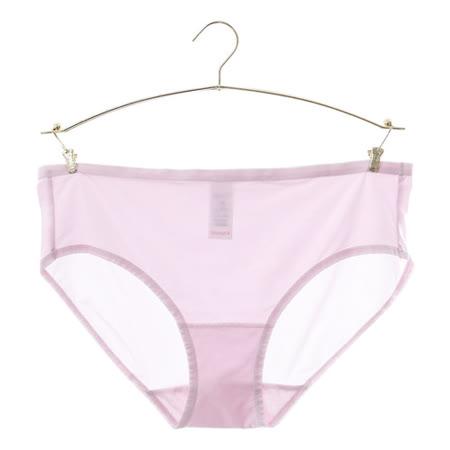 黛安芬-身體底妝-裸色系列 超彈力T-Shirt胸罩 中腰褲 M-EL(粉紫)-品特匯
