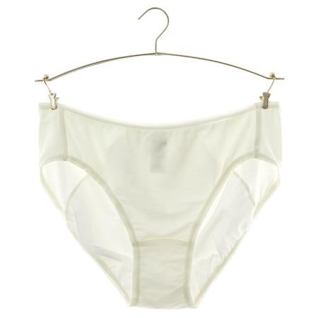 蕾黛絲-牛奶紗生理褲M-EL(淺黃)-品特匯