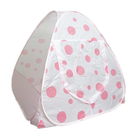 【孩子國】粉紅點點歡樂球屋(贈送50顆彩球)~外銷日本款