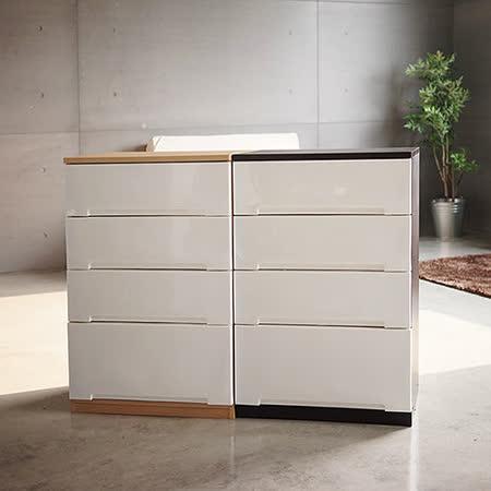 《Peachy life》日系木天板四層抽屜櫃/衣物收納櫃/整理箱(2色可選)