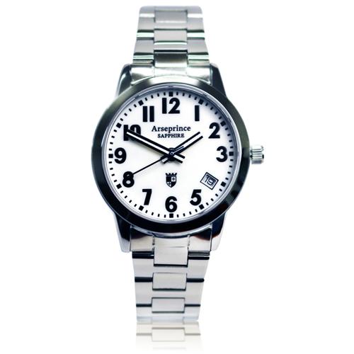 ~Arseprince~ 指針 男錶~白色
