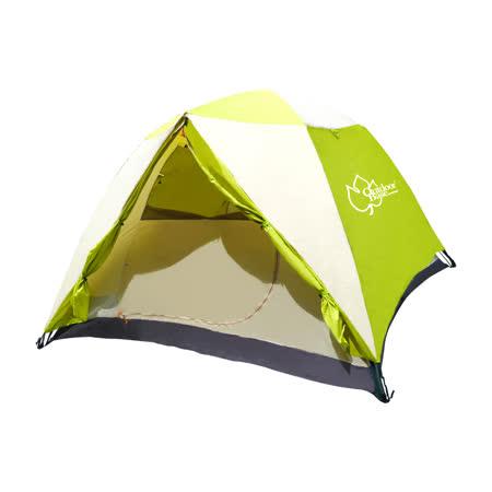 超值組合【Outdoorbase】快搭式速立六人帳篷+美麗人生充氣床