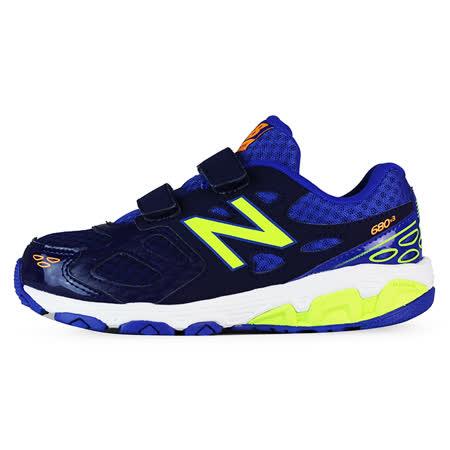 New Balance 童 KV680 紐巴倫 避震跑鞋 綠/藍 - KV680TBY