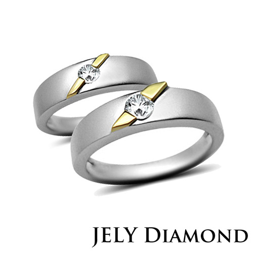 【JELY】HONEY DIAMOND 天然真鑽對戒