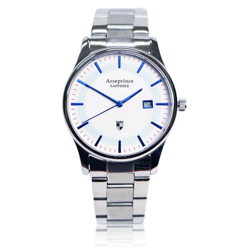 ~Arseprince~極簡品味風格 中性錶~藍色