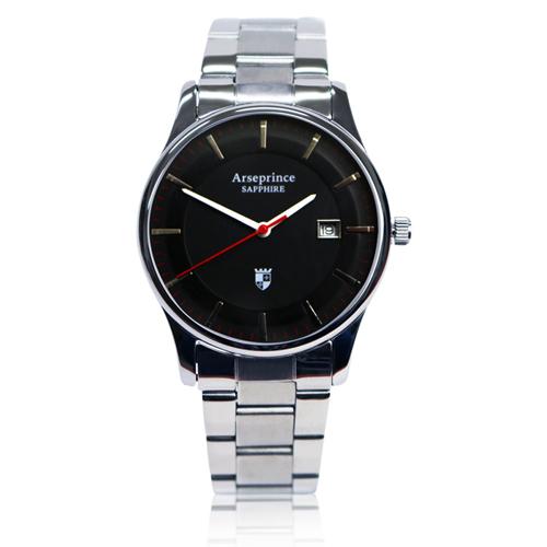 ~Arseprince~極簡品味風格 中性錶~黑色