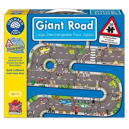 【英國Orchard Toys】遊戲拼圖-道路組