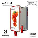 【OZZIE】 IPhone 6/6S Plus 可拆背蓋邊框式行動電源4色