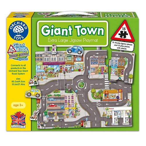 ~英國 Orchard Toys~遊戲拼圖~城市組