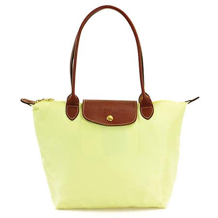 Longchamp 經典高彩度可摺疊水餃包 _ 長把/小/茴香綠