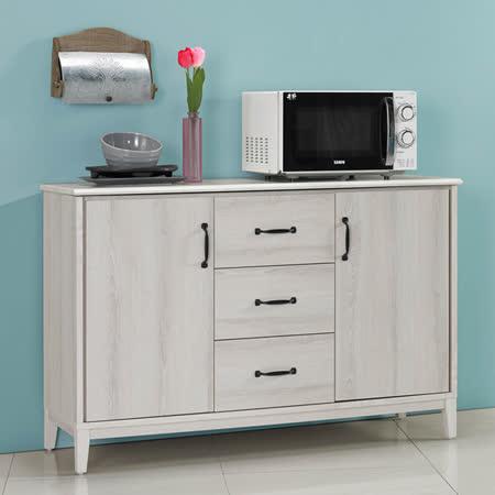 《Homelike》朵勒絲4尺石面餐櫃