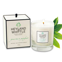H&W英倫薇朵 葡萄柚綠茶香氛燭 230g