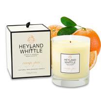 H&W英倫薇朵 橙果馨香香氛燭 230g