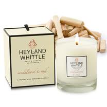 H&W英倫薇朵 玫香檀木香氛燭 230g