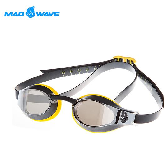 俄羅斯MADWAVE成人泳鏡X-LOOK MIRROR贈送Barracuda醫療板橋 f21耳塞
