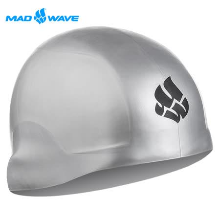 俄羅斯MADWAVE成人矽膠泳帽 R-CAP贈送Barracuda醫療耳塞
