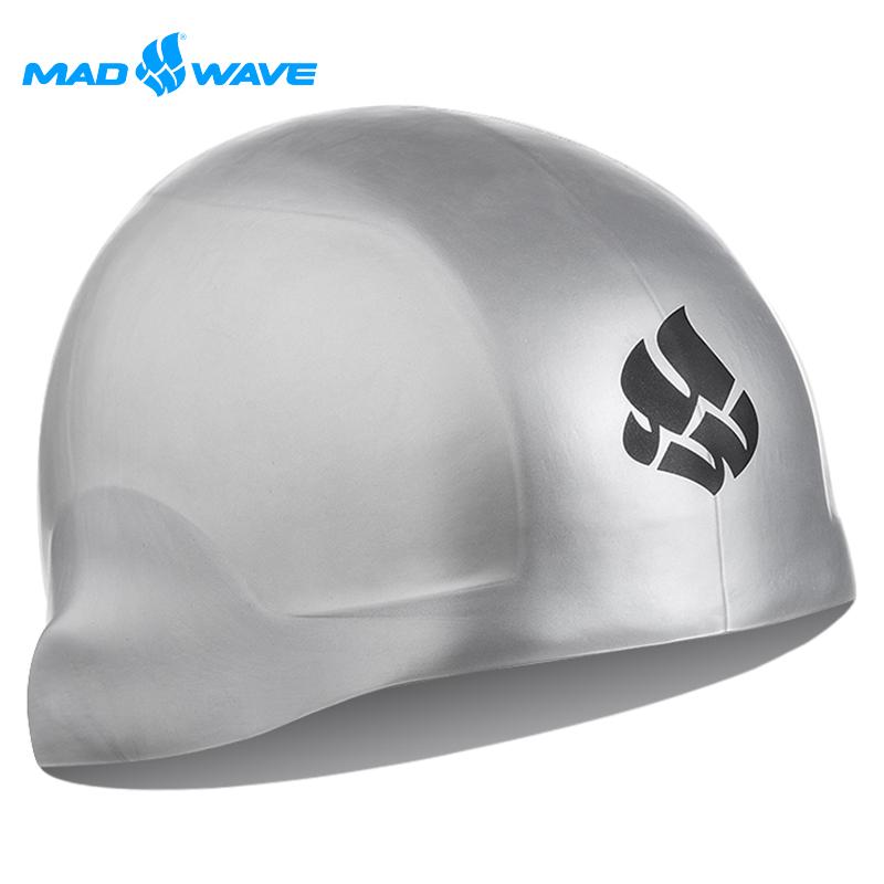 俄羅斯MADWAVE成人矽膠泳帽 R-CAP贈送Barracgohappy 生日 禮uda醫療耳塞