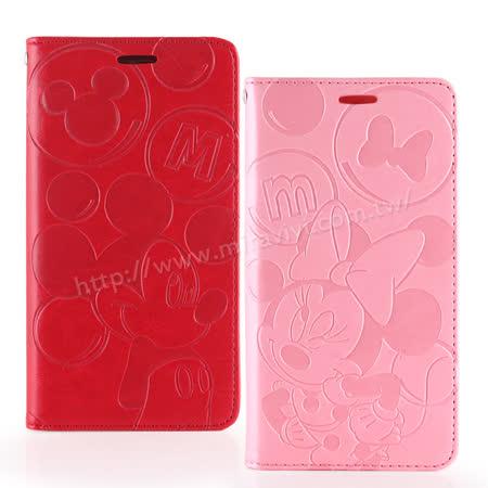 Disney HTC Desire 530 角色泡泡壓紋側掀可立式皮套
