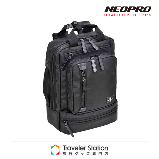 ~Traveler Station~NEOPRO 機能包超輕商務款電腦後背包~黑色