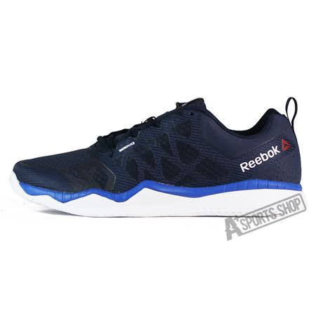 REEBOK (男) 銳步 REEBOK ZPRINT TRAIN 慢跑鞋 黑/藍-V72195