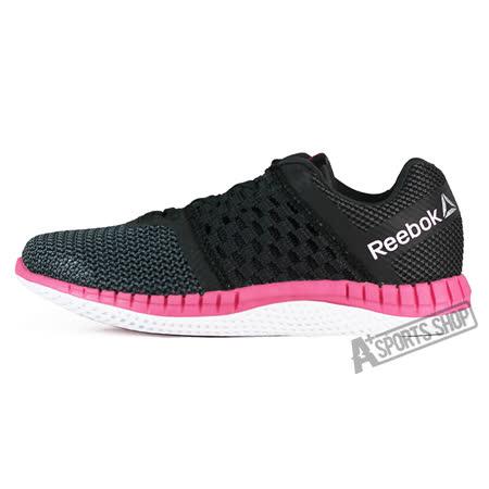 REEBOK (女) 銳步 REEBOK ZPRINT RUN 慢跑鞋 黑/紅-V72329