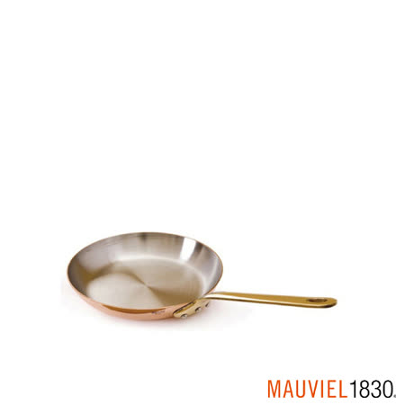 法國Mauviel-紅銅單手平底鍋(12cm)