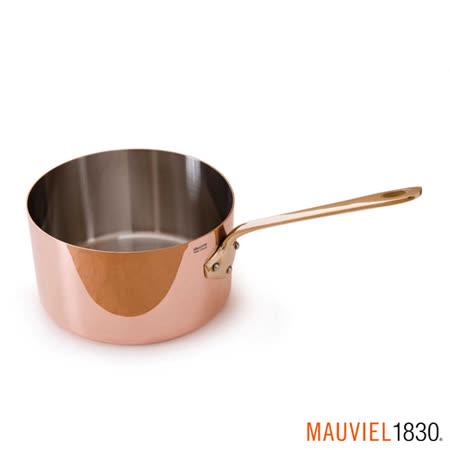 【部落客推薦】gohappy 購物網法國Mauviel-紅銅單手醬汁鍋(12cm) 評價sogo 永和