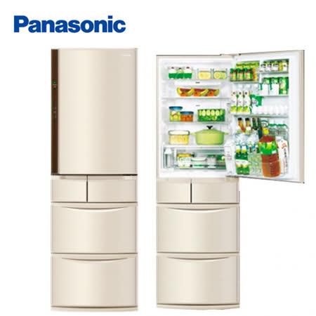 Panasonic 國際牌日本製430公升變頻五門冰箱NR-E430VT