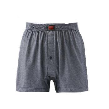 BVD雙彩針織平口褲(M~XL)