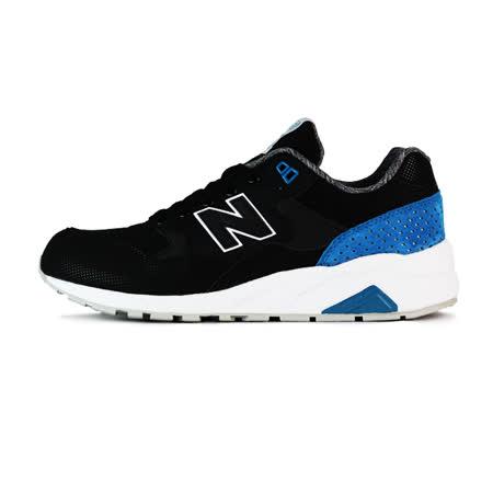 New Balance 男 MRT580 TIER 2 紐巴倫 復古鞋 黑/藍/白 - MRT580MN