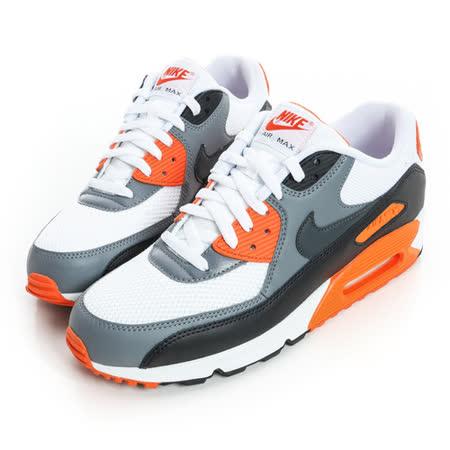 NIKE(男)經典復古鞋-灰橘-537384128